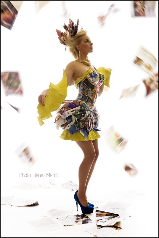 Modna fotografija - Reciklaža - Joel Loyo